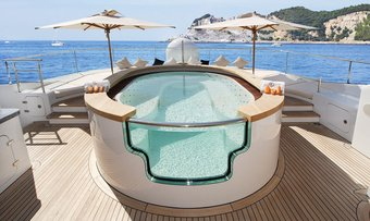 Talisman C yacht charter lifestyle