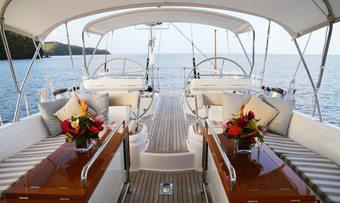 Dama de Noche yacht charter lifestyle