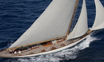 Moonbeam of Fife III yacht charter William Fife & Sons Sail Yacht