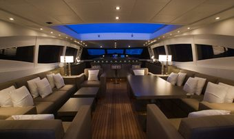 Crazy Too yacht charter lifestyle