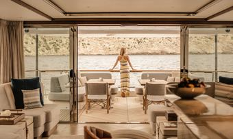 Delta One yacht charter lifestyle