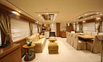 Alfa XII yacht charter lifestyle