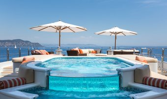 Lucky Lady yacht charter lifestyle