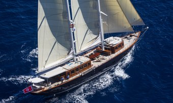 Satori yacht charter Big Blue Yachts Sail Yacht