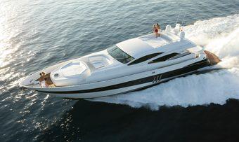 Maximo yacht charter Pershing Motor Yacht