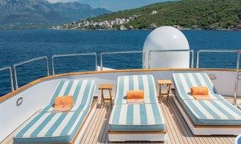 Cheetah Moon yacht charter lifestyle
