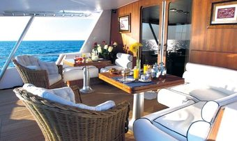 Oh Que Luna yacht charter lifestyle
