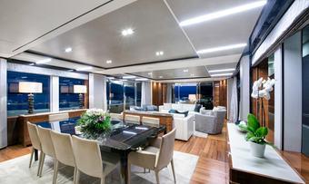 Antheya III yacht charter lifestyle
