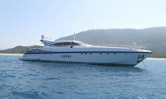 BO yacht charter Overmarine Motor Yacht