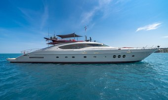Kjos yacht charter Palmer Johnson Motor Yacht