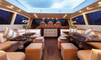 Orion I yacht charter lifestyle