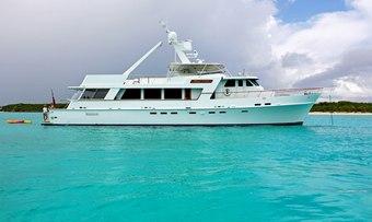 Grace yacht charter Christensen Motor Yacht