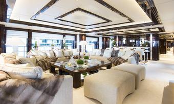Illusion V yacht charter lifestyle