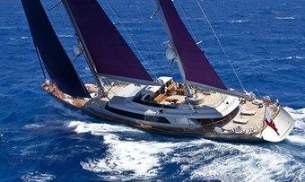 Baracuda Valletta yacht charter Perini Navi Sail Yacht