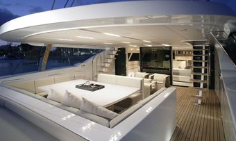 Red Dragon yacht charter lifestyle