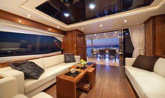 Black Mamba yacht charter lifestyle
