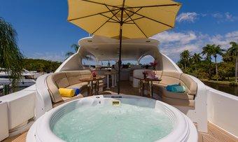 Bella Contessa yacht charter lifestyle
