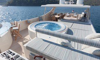 Joan's Beach yacht charter lifestyle
