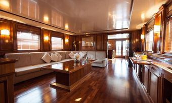 Antares of Britain yacht charter lifestyle