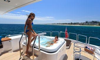 Paradise yacht charter lifestyle