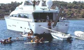 Lady K.K. yacht charter lifestyle
