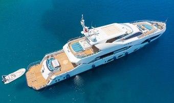 Destiny yacht charter Miss Tor Yacht Motor Yacht