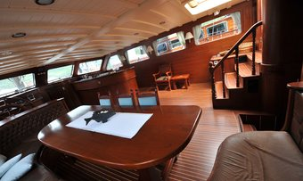 Princess Karia II yacht charter lifestyle