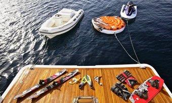 Accama Delta yacht charter lifestyle