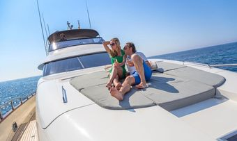 Cento by Excalibur yacht charter lifestyle