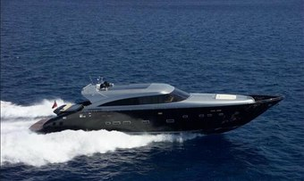 George P yacht charter AB Yachts Motor Yacht