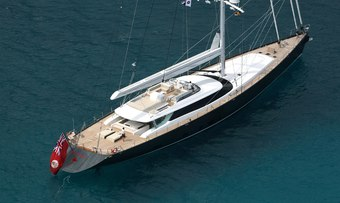 Red Dragon yacht charter Alloy Yachts Sail Yacht