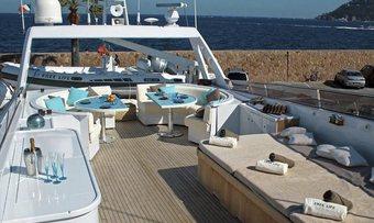 Chamade yacht charter lifestyle
