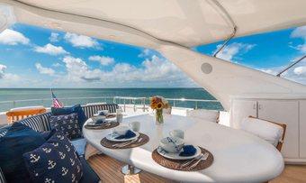 Troca One yacht charter lifestyle