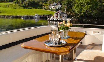 Anne Viking yacht charter lifestyle