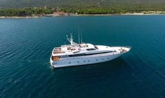 Bora Bora II yacht charter lifestyle