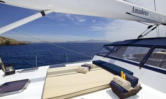 Amadeus yacht charter lifestyle