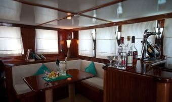 Dream Voyager yacht charter lifestyle
