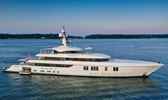 Lunasea yacht charter Feadship Motor Yacht