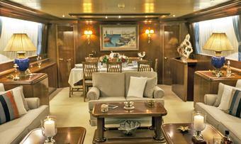Venus Vistoria yacht charter lifestyle