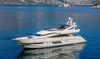 Lady Mura yacht charter lifestyle