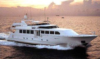 Island Vibe yacht charter Broward Motor Yacht