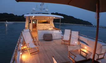 Nymphaea yacht charter lifestyle