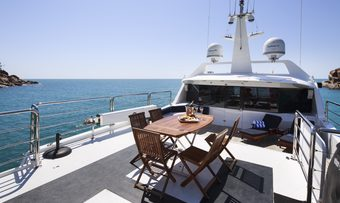 Flying Fish yacht charter lifestyle