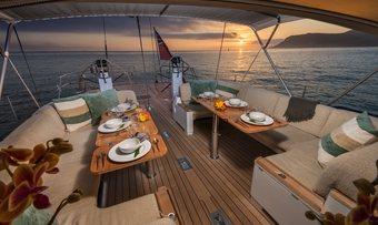 Padma yacht charter lifestyle