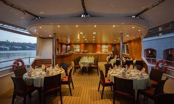 Pan Orama II yacht charter lifestyle