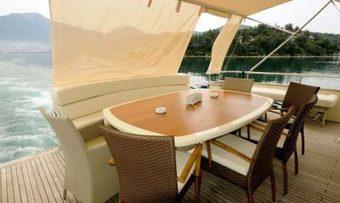 Arzu's Desire yacht charter lifestyle