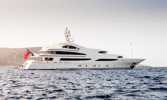 St David yacht charter Benetti Motor Yacht