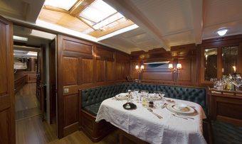 Moonbeam of Fife III yacht charter lifestyle
