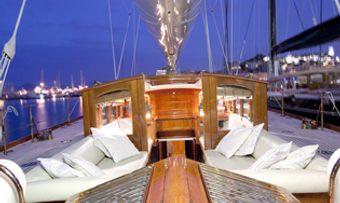 Shamrock V yacht charter lifestyle