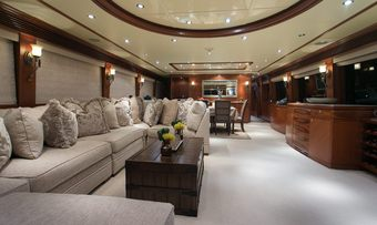 Beachfront yacht charter lifestyle